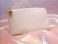 開運財布屋さんの白蛇財布レジサット!ラウンドファスナーです