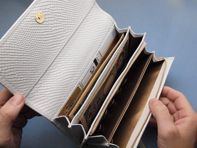 一番おすすめの白蛇財布です