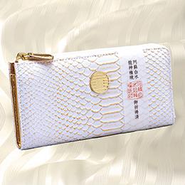 水晶院白蛇財布シリーズ金彩