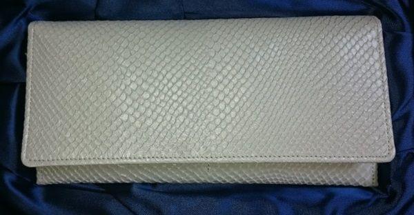 財布屋白蛇長財布